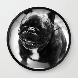 French bulldog Wall Clock
