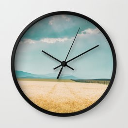 Harvest Shadow Wall Clock