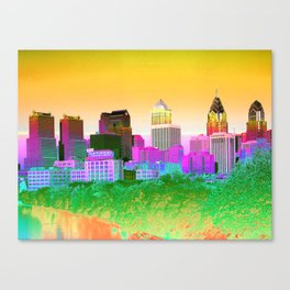 Philadelphia maneto Canvas Print