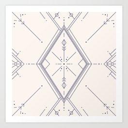 Convergence Light Art Print