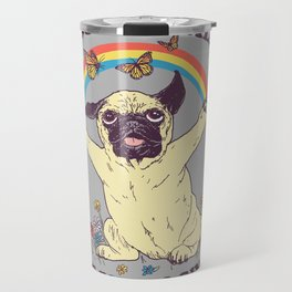 All The Pugs I Give Travel Mug
