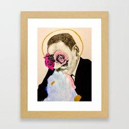 Martin, Patron Saint of Love Framed Art Print