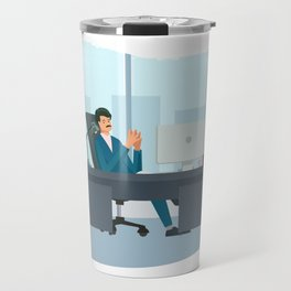 Big Boss Happy National Boss Day Travel Mug