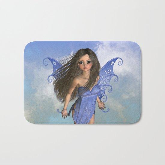 Fairy Flight Bleu 2 Bath Mat
