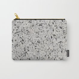 Black and white granite Carry-All Pouch