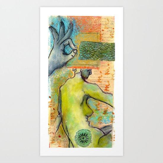 Wisdom In the Dream Art Print