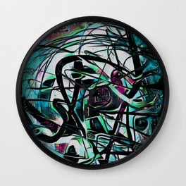 Primordial Grove Wall Clock