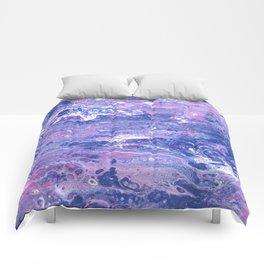 Purple Planet Comforters