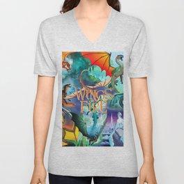 Wings Of Fire Unisex V-Neck