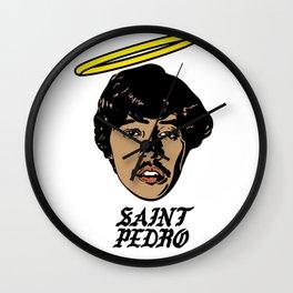 Saint Pedro Wall Clock