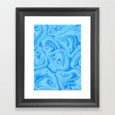 Melting Shells Framed Art Print