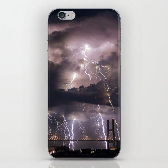 Talmadge Thunder iPhone & iPod Skin