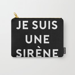 JE SUIS UNE SIRENE Carry-All Pouch