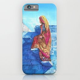 Blue City, Jodhpur iPhone Case
