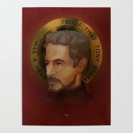 Saint Stark Poster
