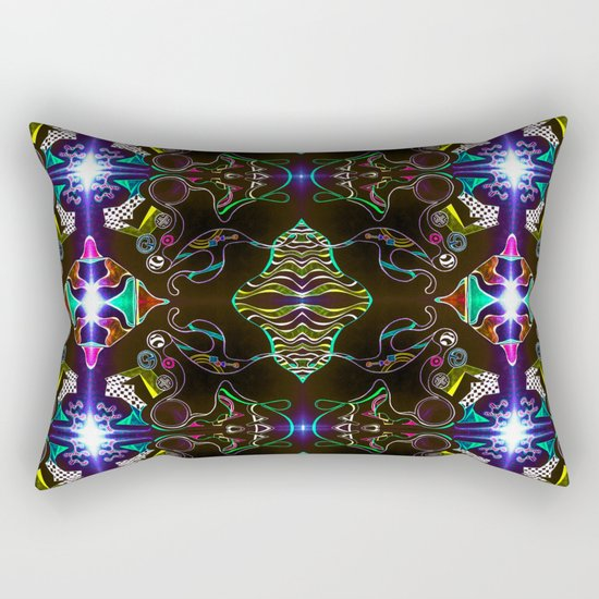 Dark City Rectangular Pillow
