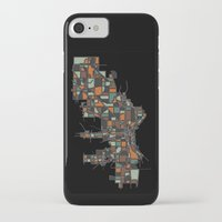 milwaukee iPhone & iPod Cases featuring Milwaukee by BigRedSharks