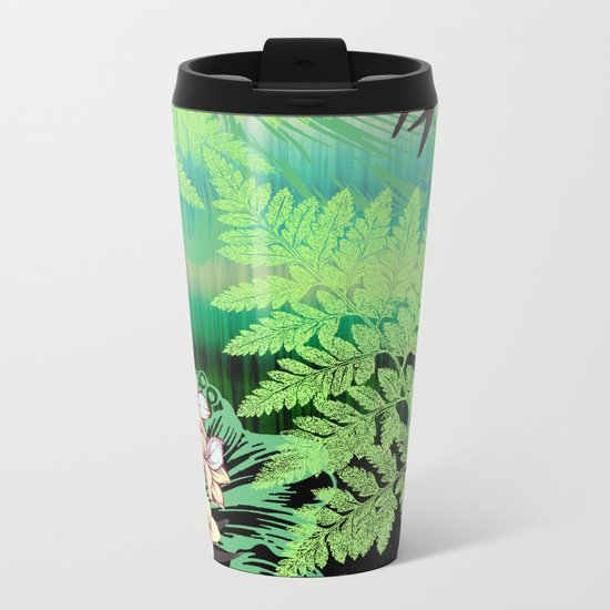 Cool Tranquility Metal Travel Mug