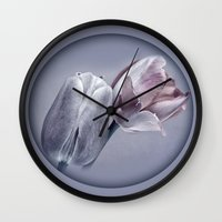 silver Wall Clocks featuring SILVER by INA FineArt