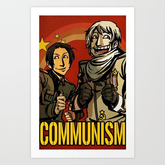 Communism! Art Print