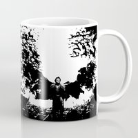 dracula Mugs featuring Dracula by Panda Cool