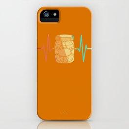 Cucumber Pickle gherkin heart beat iPhone Case