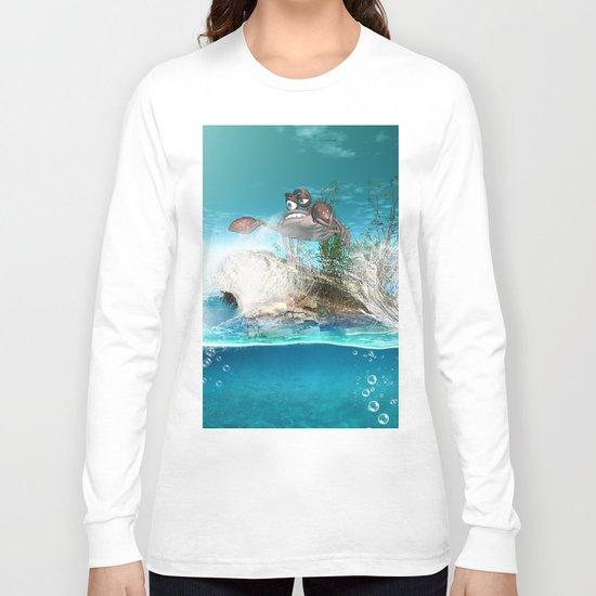 Funny crab Long Sleeve T-shirt