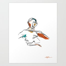 Arms / Open Art Print