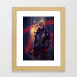 Respect the Man, Not the Rank Framed Art Print