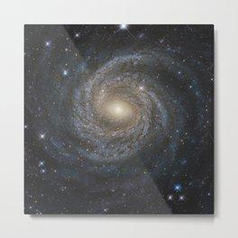 Spiral Galaxy NGC 6814 Metal Print
