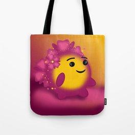 Flower power emoji Tote Bag