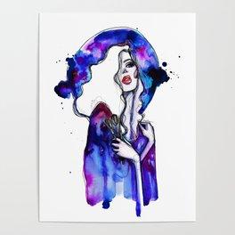 Violet sky  Poster