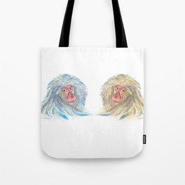 Macaco blues Tote Bag
