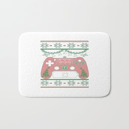 Gaming Christmas Bath Mat