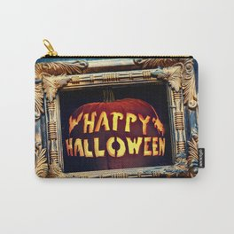Happy Halloween Party Decorations Photograph Carry-All Pouch
