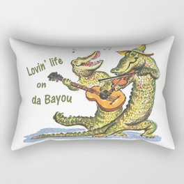 On da Bayou Rectangular Pillow