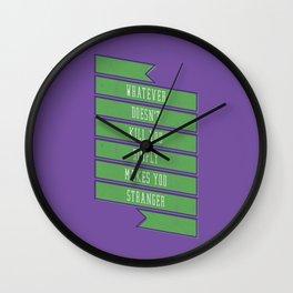 Stranger Wall Clock