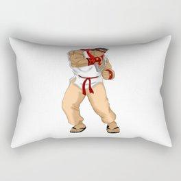 Street Fighter Andres Bonifacio Rectangular Pillow