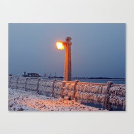 The Chill is On Canvas Print