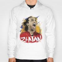 zlatan Hoodies featuring Zlatan by Conal Deeney