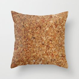 Towel thick Cork imitation Throw Pillow