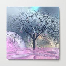 the tree, that weeps Metal Print