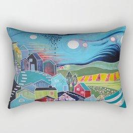 Watching Over Rectangular Pillow