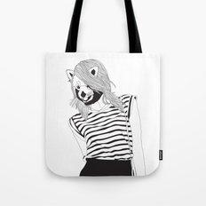 Miss Panda Tote Bag