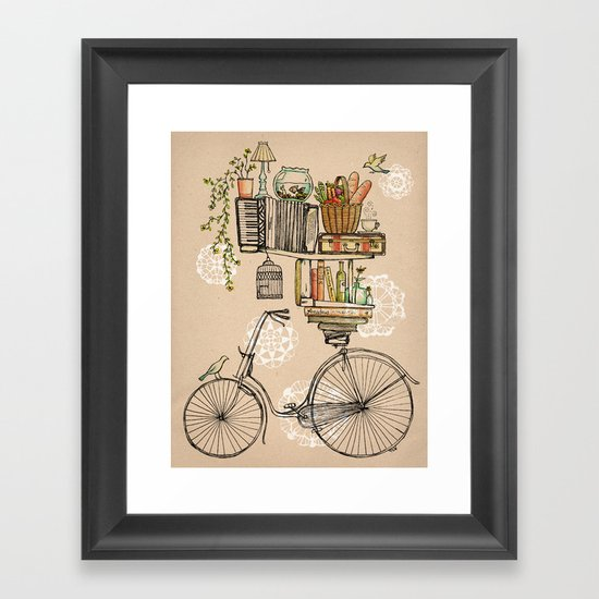 Pleasant Balance Framed Art Print