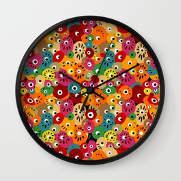 Dot Machine Wall Clock