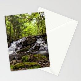 split waterfall Stationery Cards