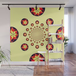 Fireballs Wall Mural