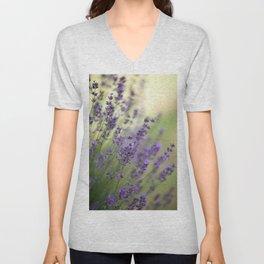 Dream Garden Lavender Unisex V-Neck