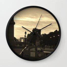 vintage car Wall Clock